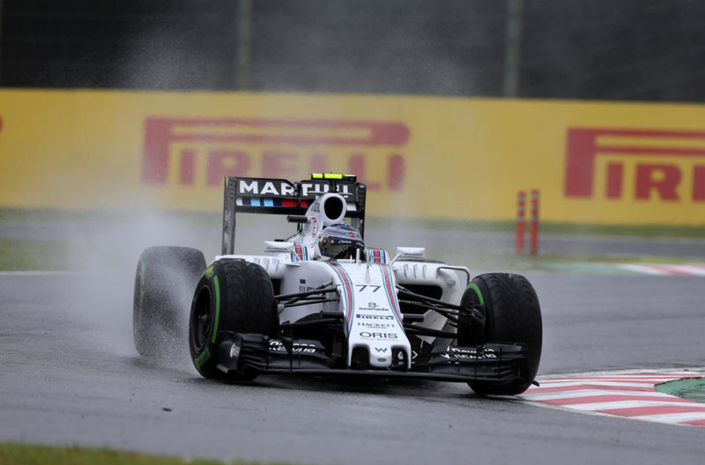 GP Russia, libere 2: pioggia protagonista, Bottas davanti