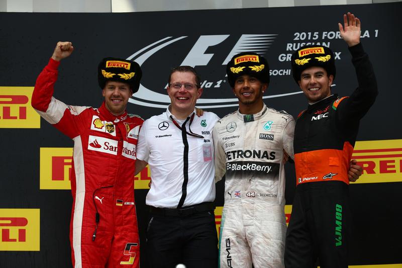 Le Pagelle Medie del GP di Russia 2015