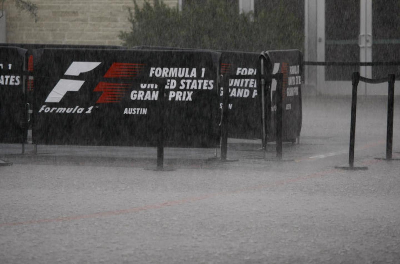 F1   GP Stati Uniti, libere 2 cancellate per il maltempo