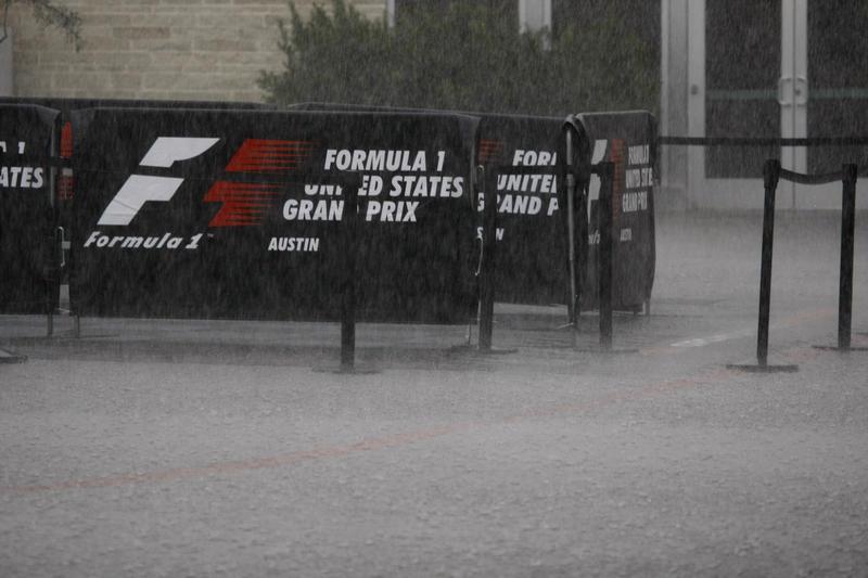 F1 | GP Stati Uniti, libere 2 cancellate per il maltempo