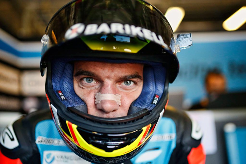 MotoGP | Alex De Angelis è tornato finalmente a casa