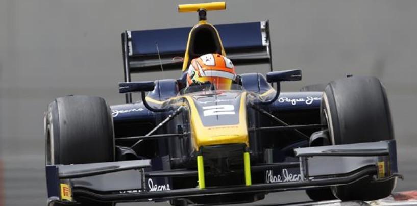 GP2 Sochi: Lynn rainmaster, sua la pole position