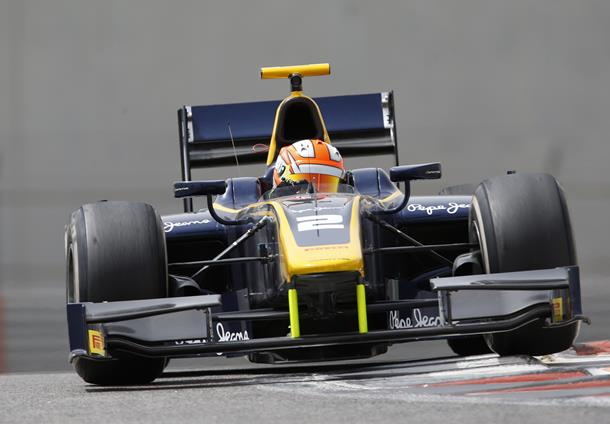GP2 Sochi: Lynn rainmaster, sua la pole position