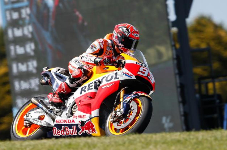 Motomondiale | Phillip Island: Márquez in pole, Rossi solo settimo