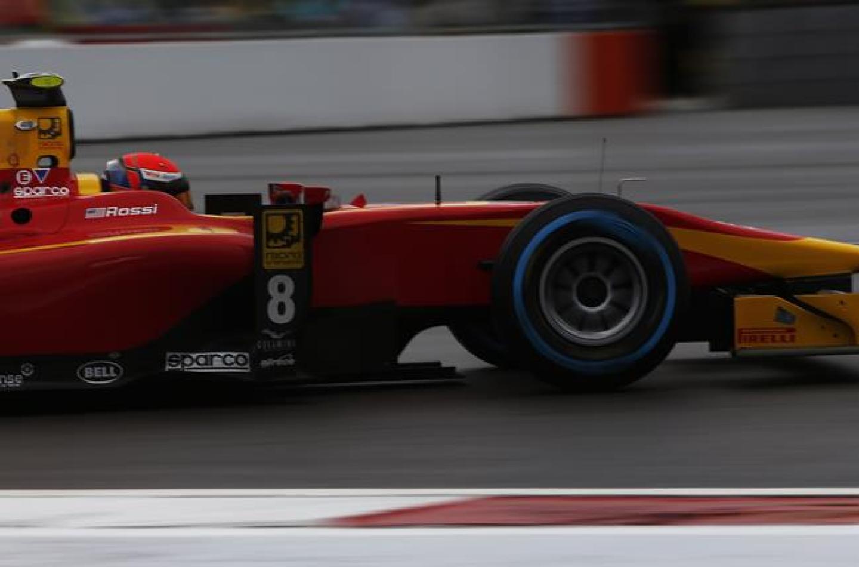 GP2 Sochi: terza vittoria per Rossi, festa rimandata per Vandoorne
