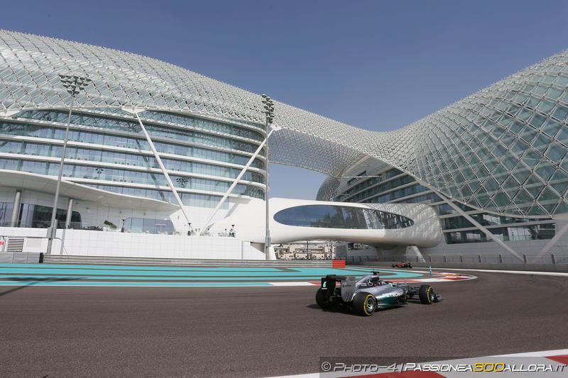 F1 | Test Abu Dhabi, le line up dei team