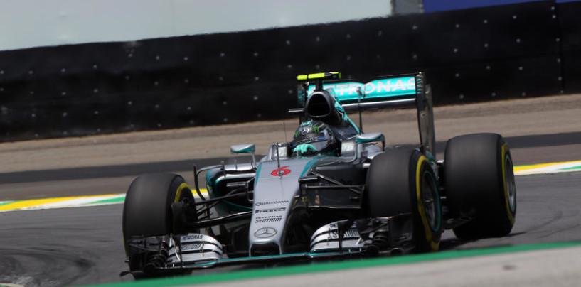 F1   GP Germania, FP1: Mercedes davanti a tutti