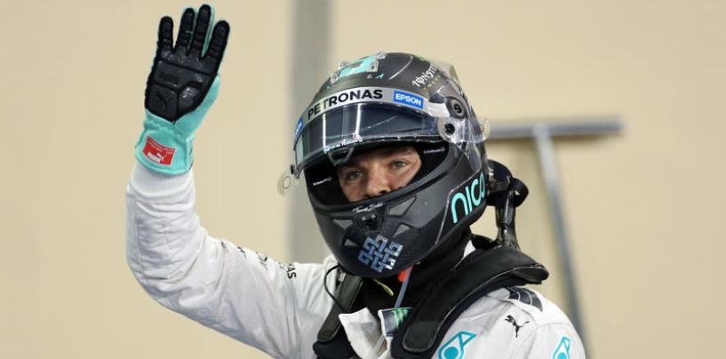 F1   GP Abu Dhabi: Rosberg vince su Hamilton e Raikkonen