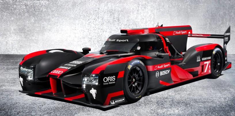 WEC | Presentata la nuova Audi R18 per la stagione 2016