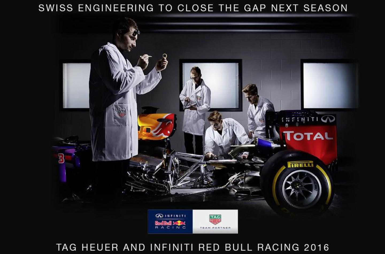 F1  Tag Heuer: bye bye McLaren Honda, passa alla Red Bull
