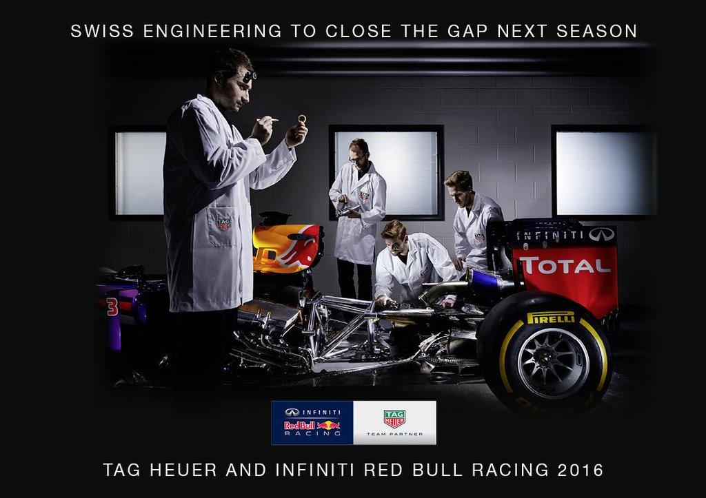 F1| Tag Heuer: bye bye McLaren Honda, passa alla Red Bull