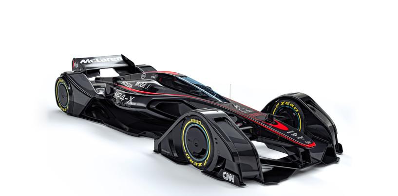 F1   Mp4-X: ecco il concept Mclaren per il futuro