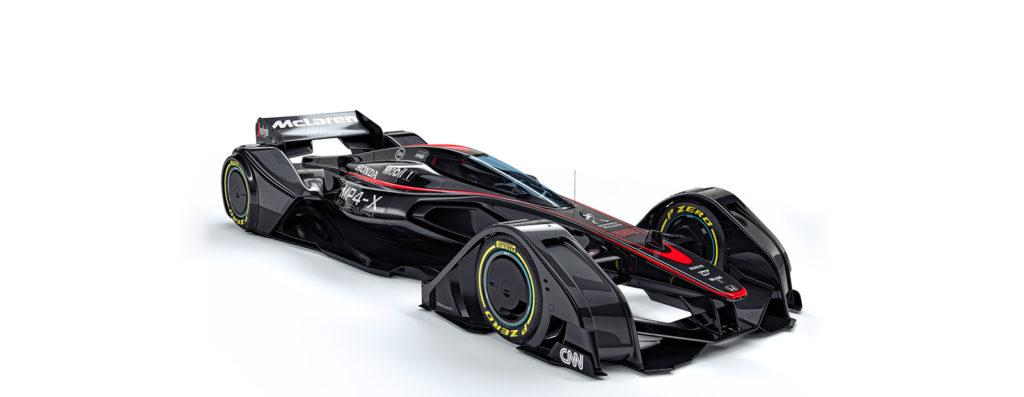 F1 | Mp4-X: ecco il concept Mclaren per il futuro
