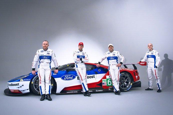 WEC | Ford annuncia la sua lineup per il campionato 2016