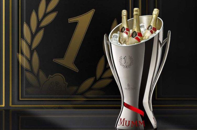 F1 | Lo champagne Mumm lascia la F1