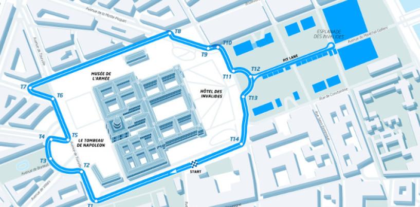 Formula E | Svelato il tracciato di Parigi