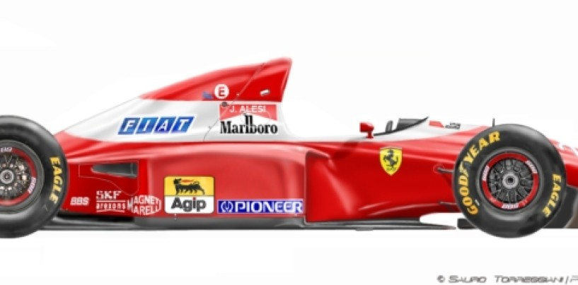 La Ferrari, il bianco e la noia