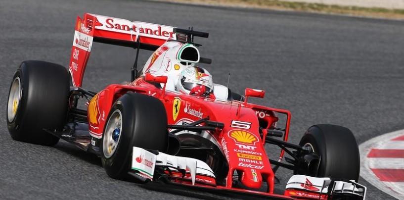 F1 | Test day 1: Vettel in testa al mattino su Hamilton