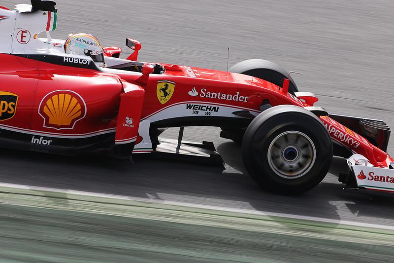 Ferrari, che palata sui denti!
