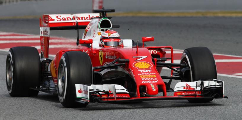 F1 | Test day 4: Raikkonen in testa al mattino