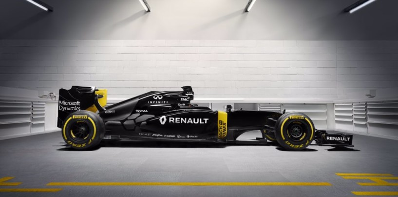 Renault presenta la livrea (solo quella, forse non definitiva) della futura R.S.16