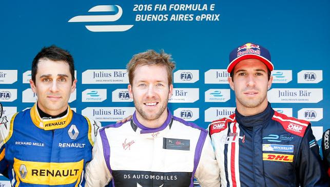 Formula E | Buenos Aires: Buemi spreca, Bird in pole position