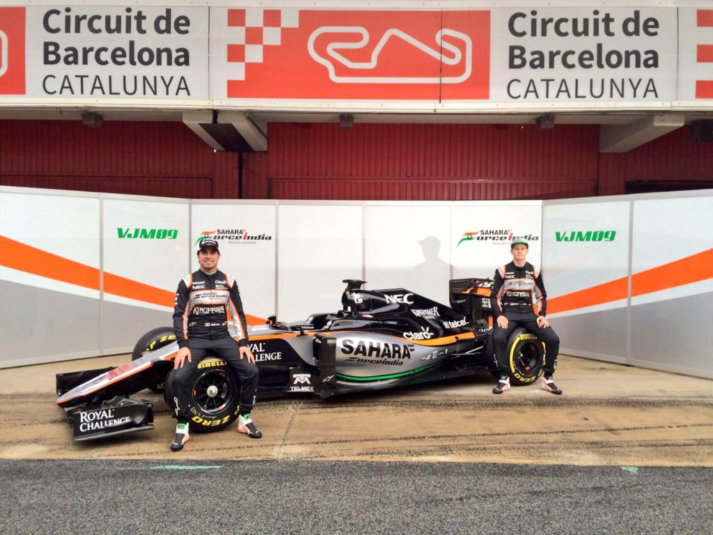 F1 | Force India VJM09 presentata a Barcellona