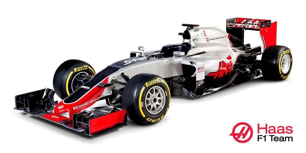 F1 | Il Team Haas presenta la VF-16