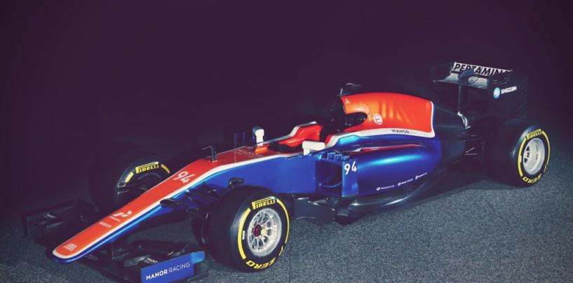 F1 | Presentata la Manor MRT05