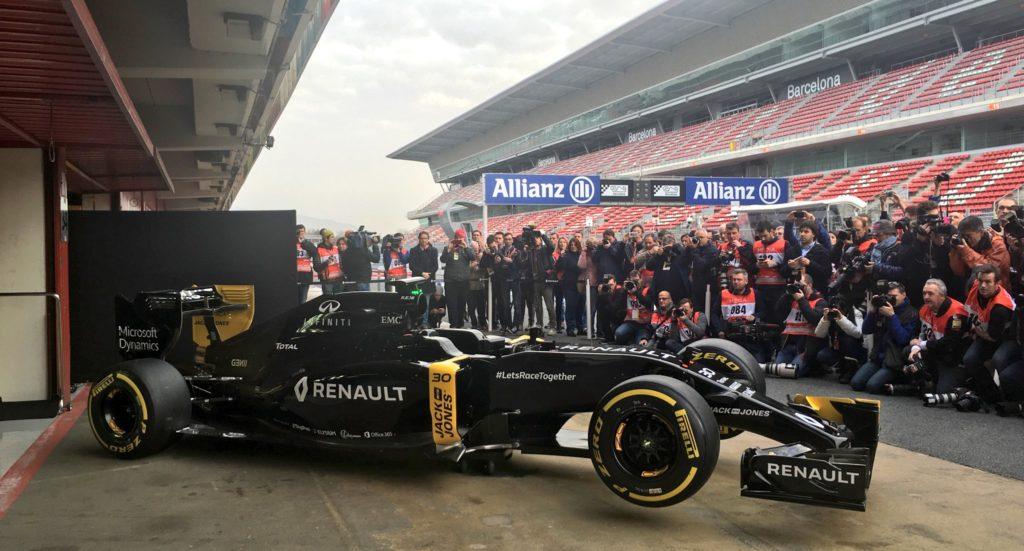 F1   Renault presenta la R.S.16