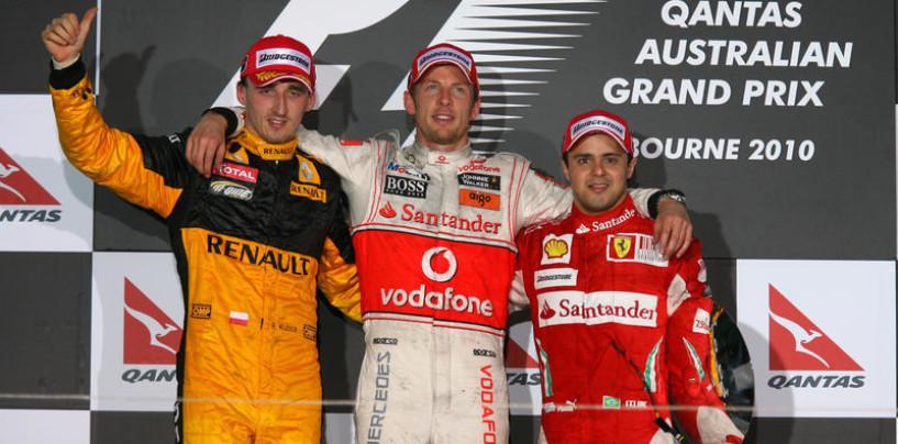Australia 2010: la prima vittoria di Button con la Mclaren