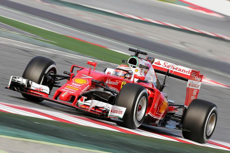 F1   Test day 7: Raikkonen in testa al mattino con la Ferrari