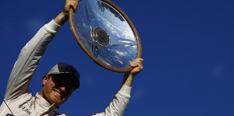F1 | Rosberg ha rischiato il ritiro nel GP d'Australia