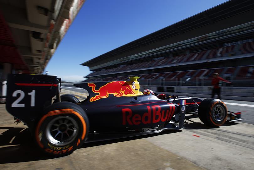 GP2 | Pierre Gasly termina con il miglior tempo nei test