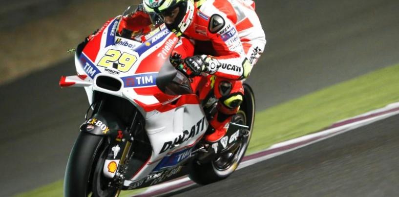 MotoGP | Qatar: Iannone chiude le libere in testa