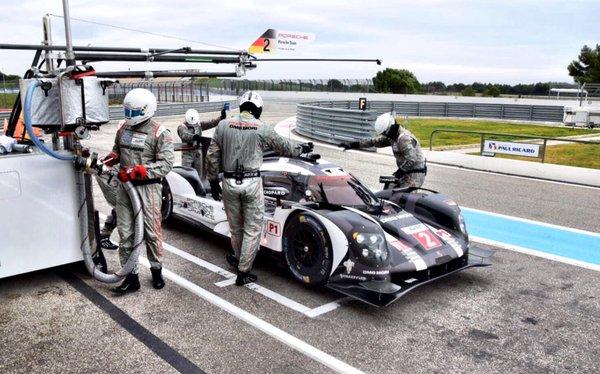 WEC | Porsche subito al comando nei test di Le Castellet