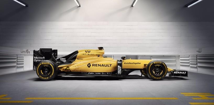 F1 | Presentata la livrea ufficiale della Renault R.S.16