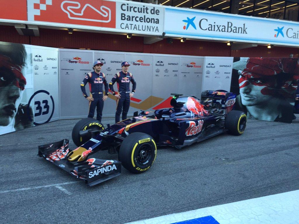 F1 | Presentata a Barcellona la Toro Rosso STR11