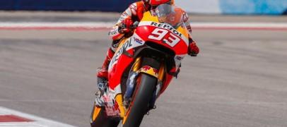 MotoGP   Austin, Marquez in pole ma che Viñales!