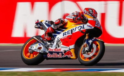 MotoGP | GP Aragona: Marquez domina su Lorenzo e Rossi