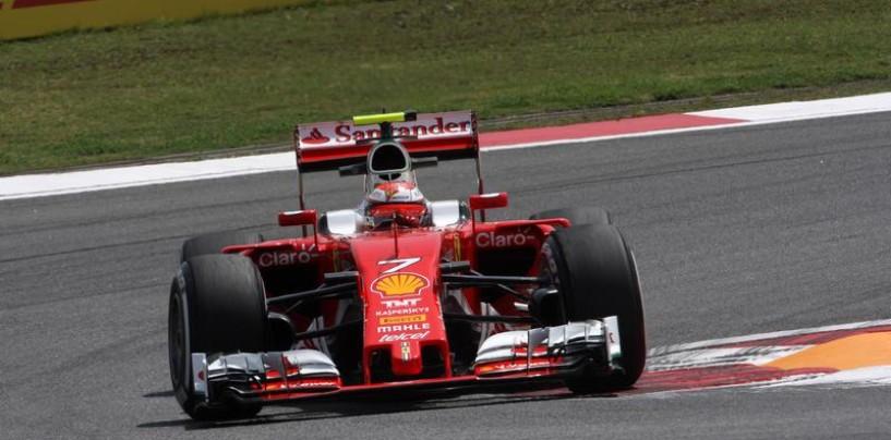 F1   GP Cina, FP2: Raikkonen-Vettel davanti alle Mercedes
