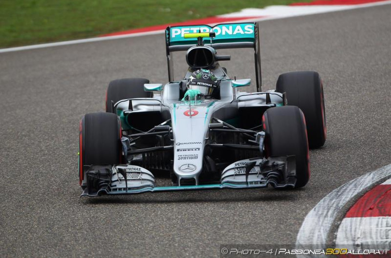 F1 | Rosberg penalizzato di 10 secondi, passa 3°. Hamilton a -1
