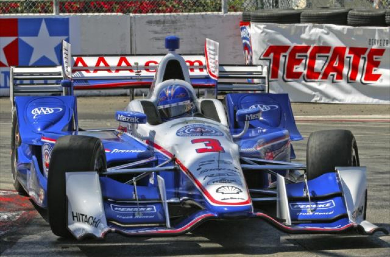 Indycar | Castroneves in pole a Long Beach
