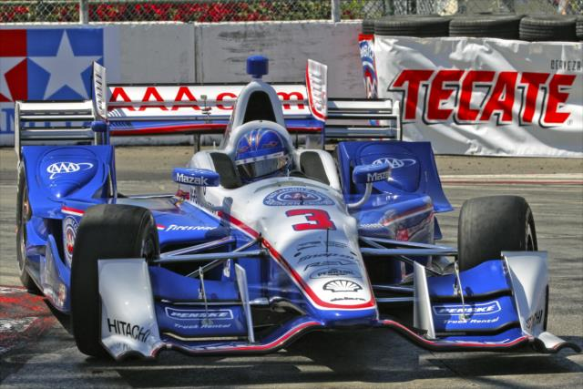 Indycar | Castroneves in pole a Long Beach