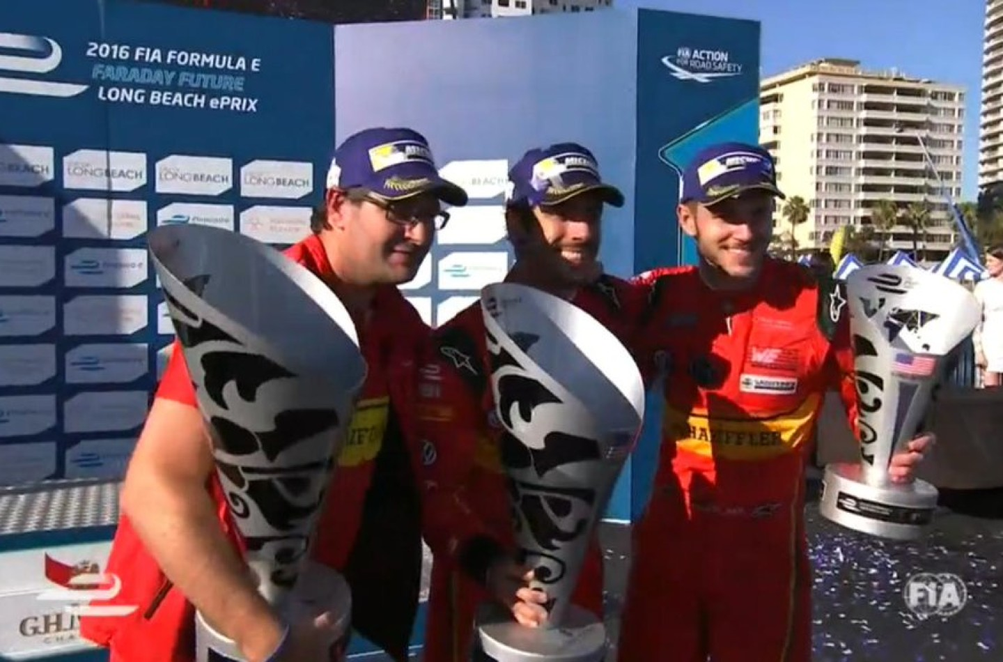 Formula E | Long Beach: di Grassi vince e torna in testa alla classifica