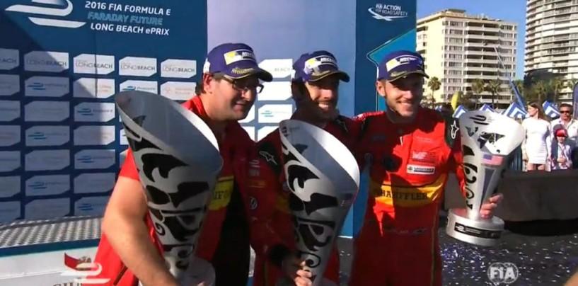 Formula E | Long Beach: di Grassi vince e torna in testa alla classifica