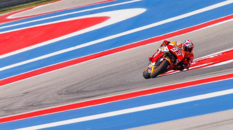 MotoGP | Austin, Marquez inarrestabile. 2° Rossi, 3° Pedrosa. Fuori Viñales