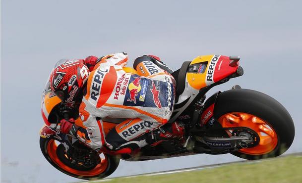 MotoGP | GP Australia, Márquez in pole nonostante il meteo pazzo