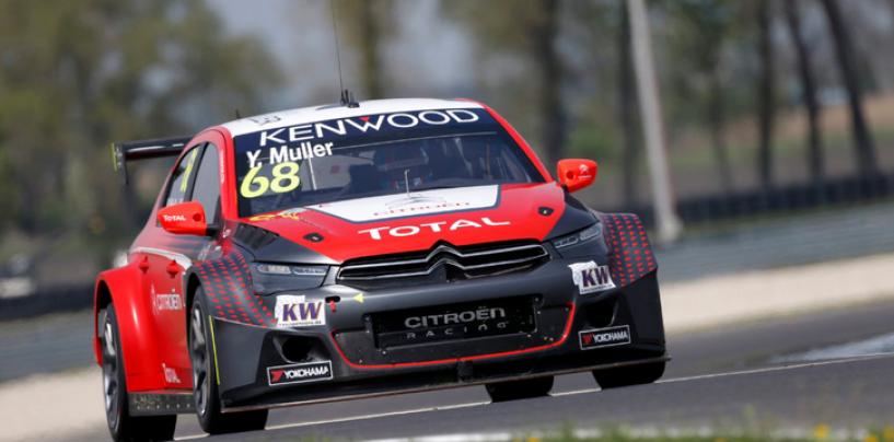 WTCC | Slovacchia: pole per Muller, Citroën e Honda pari nel MAC3
