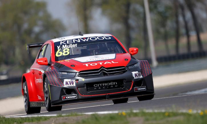 WTCC   Slovacchia: pole per Muller, Citroën e Honda pari nel MAC3